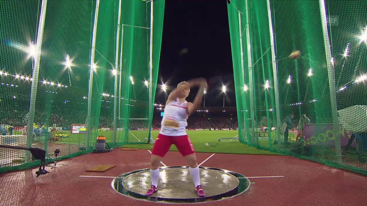 Leichtathletik-EM: Der EM-Rekord von Wlodarczyk