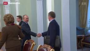 Video «Pro-Russische Regierung auf der Krim schafft Fakten » abspielen