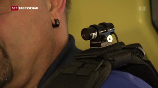 Video «SBB rüstet Bahnpolizei mit Bodycams aus» abspielen