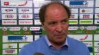Video «Fussball: Super League, Stimmen zu Aarau - Zürich» abspielen