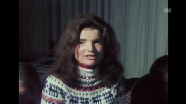 Video ««Après Ski mit Gilbert Bécaud und Jacky Onassis», Tagesschau, 1.1.1975» abspielen