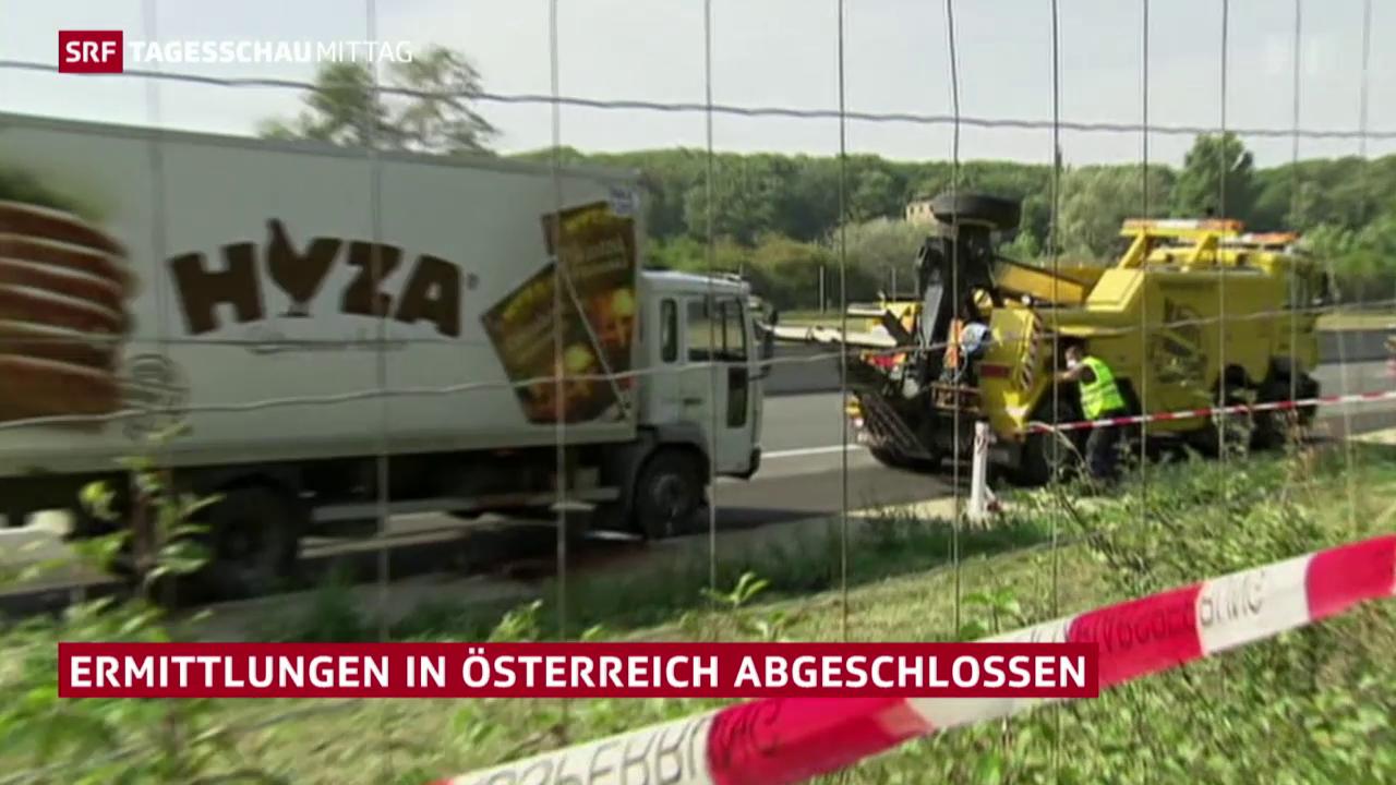 Flüchtlingsdrama in Österreich: Ermittlungen beendet