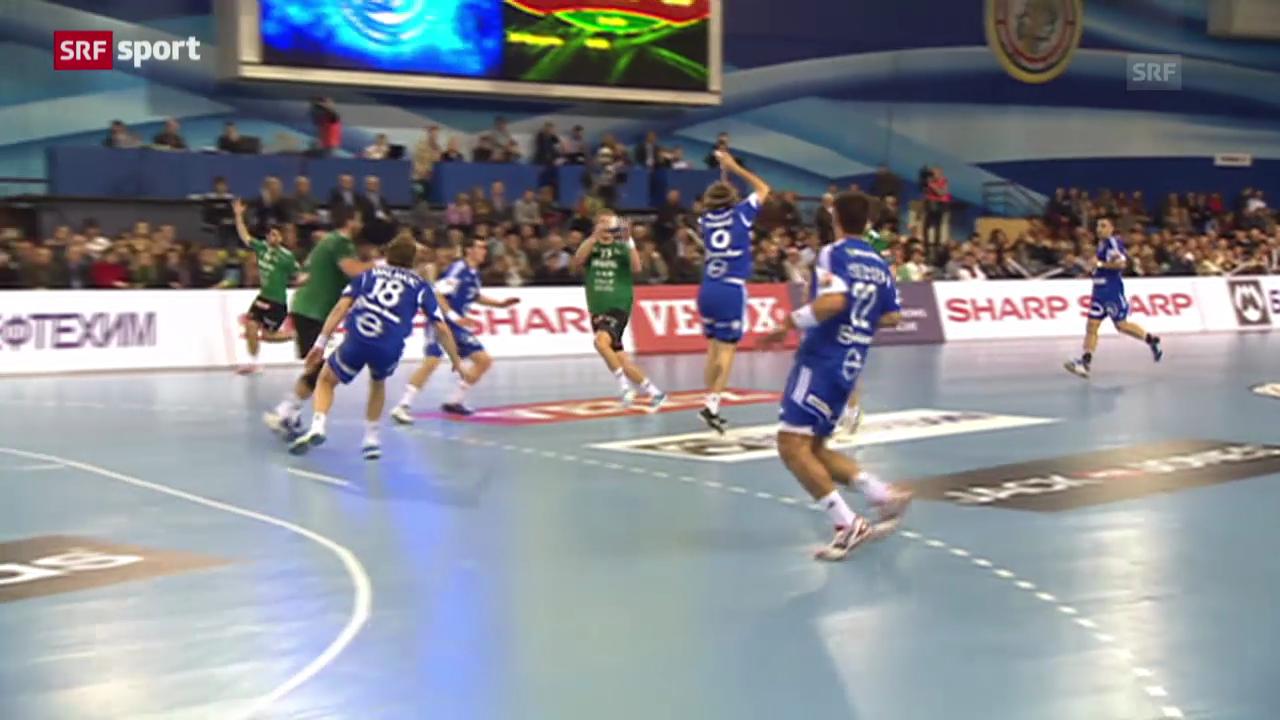Handball: Wacker Thun mit 3. CL-Niederlage
