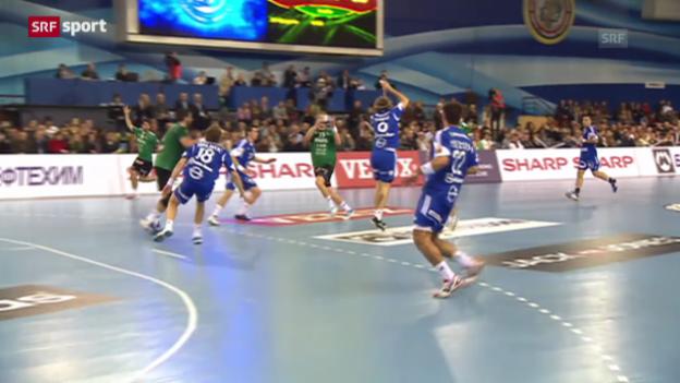 Video «Handball: Wacker Thun mit 3. CL-Niederlage» abspielen