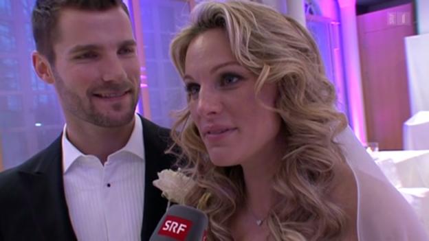 Video «Christina Surer Hochzeit» abspielen