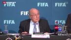 Video «Blatter macht Garcia-Bericht nun doch öffentlich» abspielen