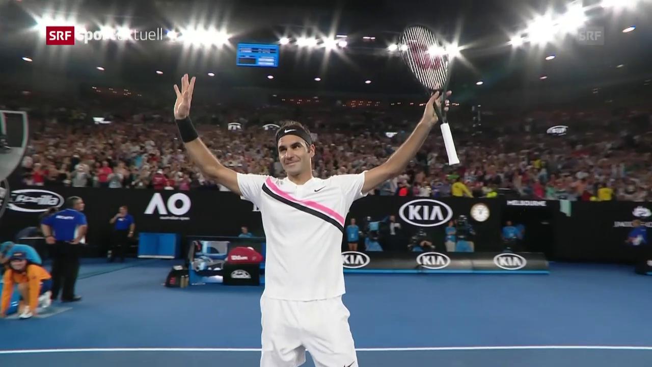 Federer schlägt Gasquet in der 3. Runde