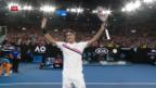 Video «Federer schlägt Gasquet in der 3. Runde» abspielen