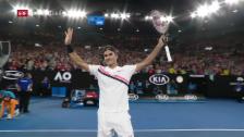 Link öffnet eine Lightbox. Video Federer schlägt Gasquet in der 3. Runde abspielen