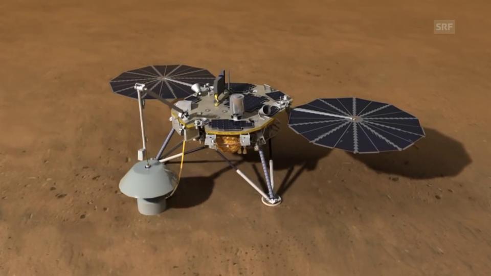 Aus dem Archiv: Gibt es Beben auf dem Mars?