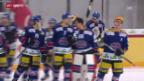 Video «Biel schlägt Lausanne und rückt Tigers auf die Pelle» abspielen