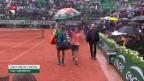 Video «Nadal und Co. vom Regen gebremst» abspielen