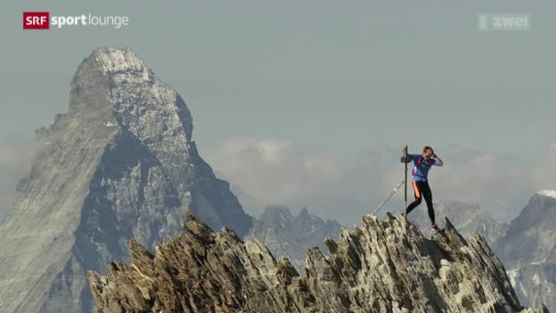 Video «Bergsport – in Laufschuhen auf die Viertausender» abspielen