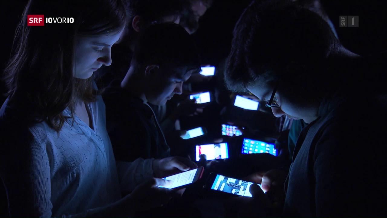 Den Internetkonsum nicht im Griff