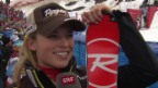 Video «Ski Alpin: Slalom Lenzerheide, Interview mit Lara Gut («sportlive», 15.03.2014)» abspielen