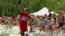 Video «Mountainbike: Cross-Country-Weltcup der Männer in Kanada» abspielen