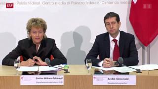 Video «Bundeshaus begrüsst Einigung im Steuerstreit» abspielen