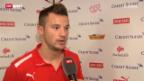 Video «Haris Seferovic vor seinem ersten Spiel mit der A-Nati» abspielen