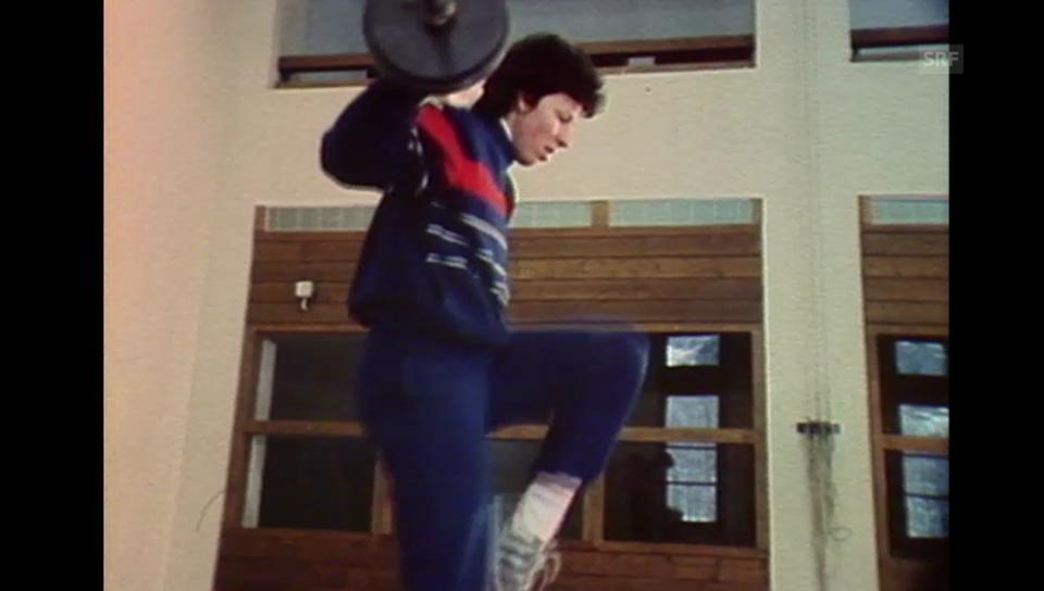 Porträt über Vreni Schneider (Sportpanorama vom 21.12.1985)