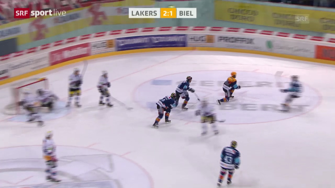 Eishockey: Playout-Final Rapperswil-Jona Lakers - Biel