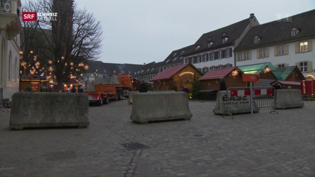Video «Basel sichert den Weihnachtsmarkt» abspielen