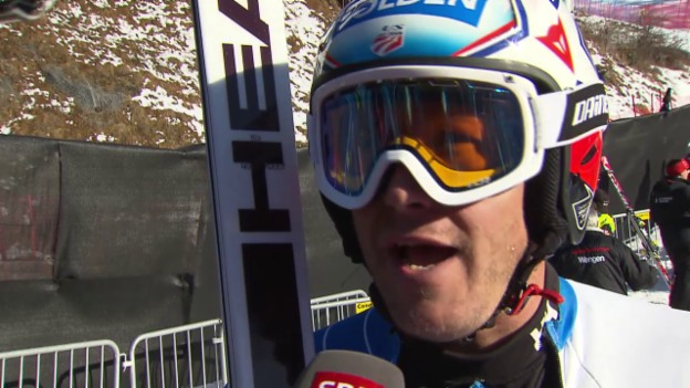 Video «Ski: Interview mit Bode Miller» abspielen