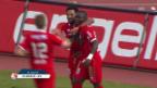 Video «Akolo schiesst Sion zum Sieg» abspielen