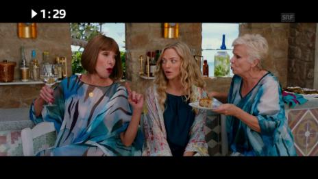 Link öffnet eine Lightbox. Video Kinostart diese Woche: «Mamma Mia! Here We Go Again» abspielen