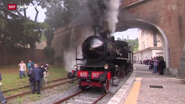 Video «Vom Vatikan nach Castel Gandolfo» abspielen