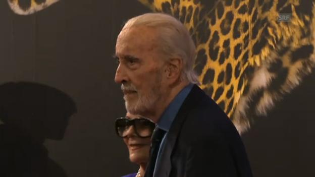 Video «Auftakt am Filmfestival in Locarno» abspielen