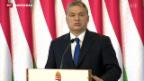 Video «Ungarn stimmt über Flüchtlingsquote ab» abspielen