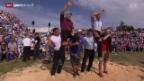 Video «Schwingen: Bergkranzfest auf dem Weissenstein» abspielen