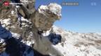 Video «Felsstürze nicht nur wegen des Hitzesommers» abspielen