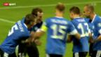 Video «Fussball: Weitere WM-Quali-Partien vom Freitag» abspielen