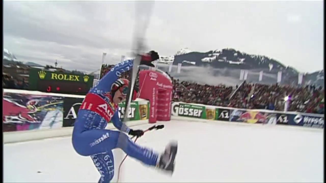 Streif-Rekordsieger Didier Cuche