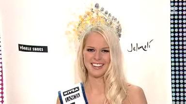 Video «Linda Fäh ist Miss Schweiz 2009» abspielen