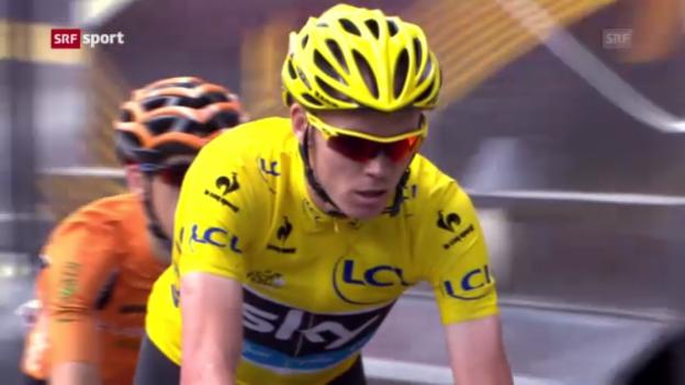 Video «Rad: 9. Etappe der Tour de France («sportpanorama»)» abspielen