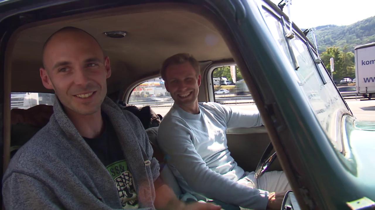 Jan Petersen & Kilian Wistuba-Hamprecht aus Tübingen, DE