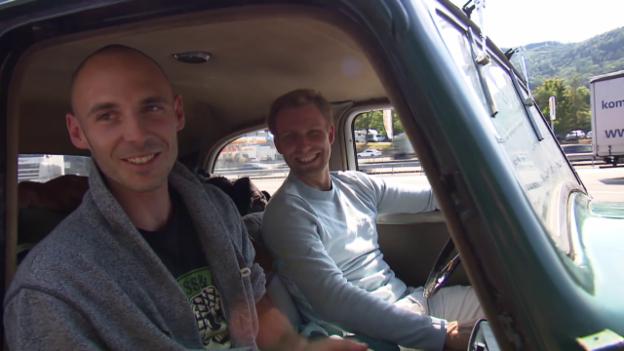 Video «Jan Petersen & Kilian Wistuba-Hamprecht aus Tübingen, DE» abspielen