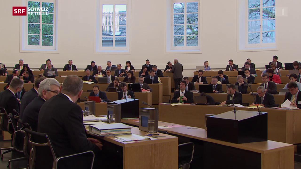 Aargauer Grosser Rat gegen höhere Steuern