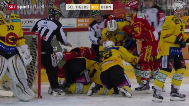 Video «Eishockey: SCL Tigers - Bern» abspielen