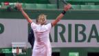 Video «Tennis: Bacsinszky in Paris im Viertelfinal» abspielen