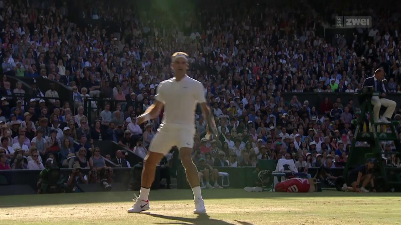 Federer schlägt Raonic im Viertelfinal