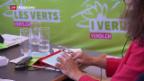 Video «Grüne diskutieren Vollgeld-Initiative - Auswirkungen auf die Bankkunden» abspielen
