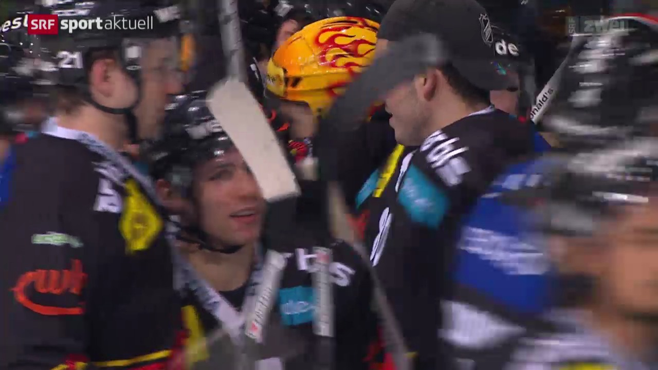 Eishockey: Bern - Genf