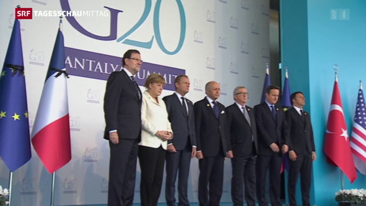 G20-Gipfel in der Türkei