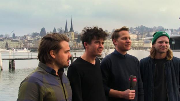 Video ««Behind The Song»: Hecht über «Charlotta»» abspielen