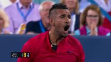 Link öffnet eine Lightbox. Video Kyrgios serviert Nadal ab abspielen