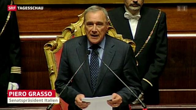 Italien: Linke Parlamentspräsidenten