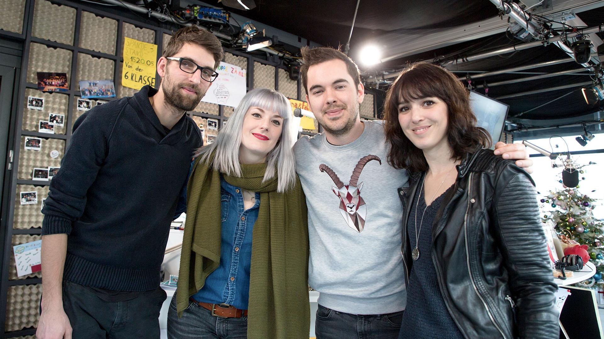 Caroussel live in der Glasbox: «Plus De Couleurs»